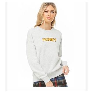 HONEY crewneck sweatshirt 🆕